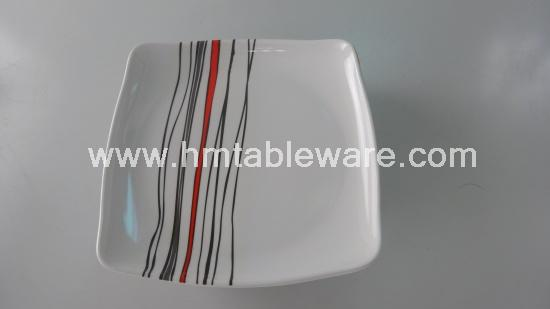 melamine square plate is for daily use widely melamine square plate is not easy to break we can print customersu0027 designs on this melamine square plate . & melamine platemelamine square platemelamine ware